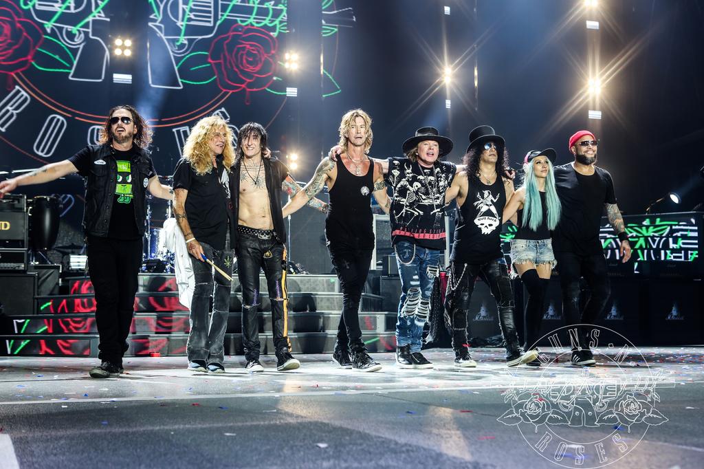 Guns N Roses Auf Not In This Lifetime Tour 2017 In München Und