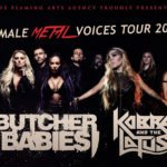 Female Metal Voices Tour 2018 Butcher Babies Kobra and the Lotus
